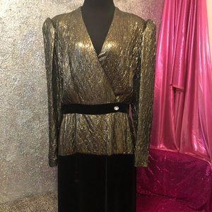 Vintage 80s Designer Halston III dress